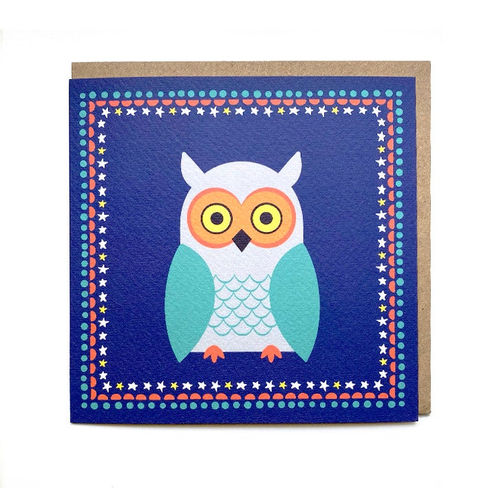 Image of Owl Card