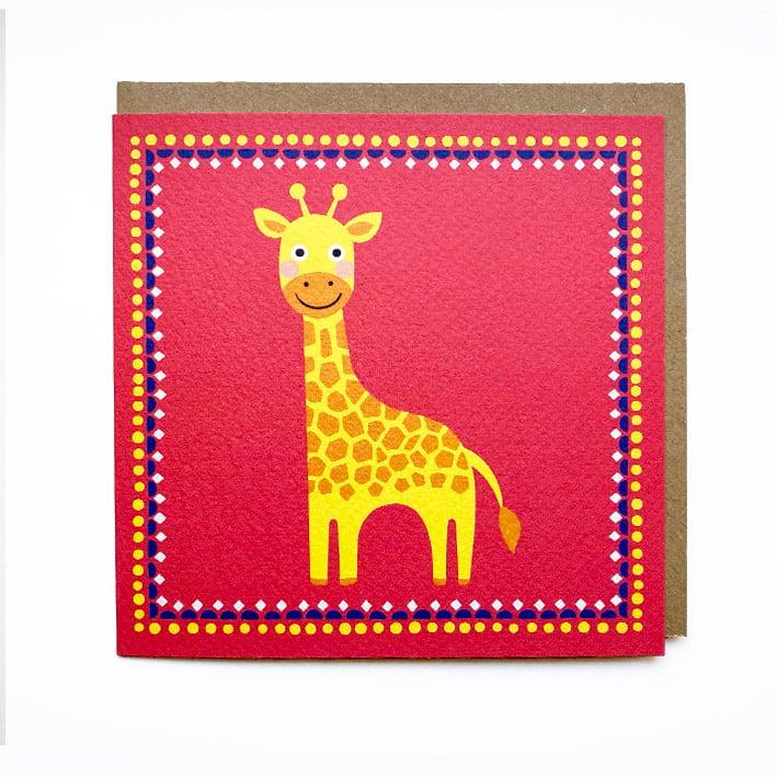 Image of Giraffe Card