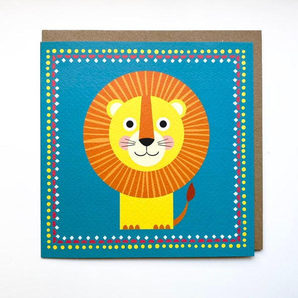 Image of Lion Card
