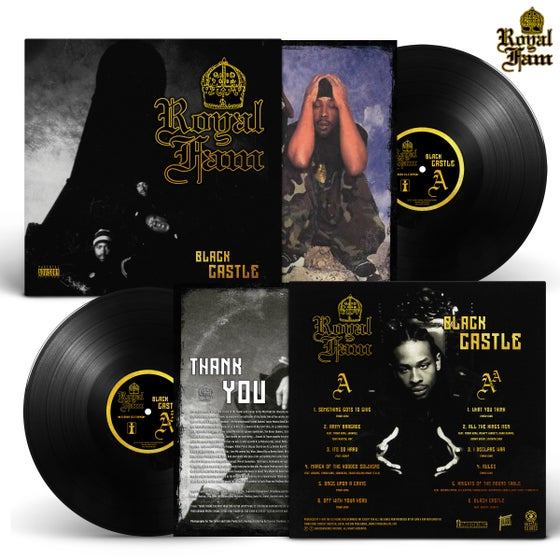Image of Royal Fam - Black Castle (Album LP + Insert) PRE ORDER NOW (SOLD OUT)