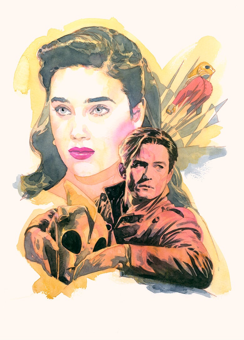 Image of The Rocketeer print