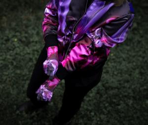 Image of EROICA PAINTINGS SERIE B BOMBER JACKET (UNISEX)