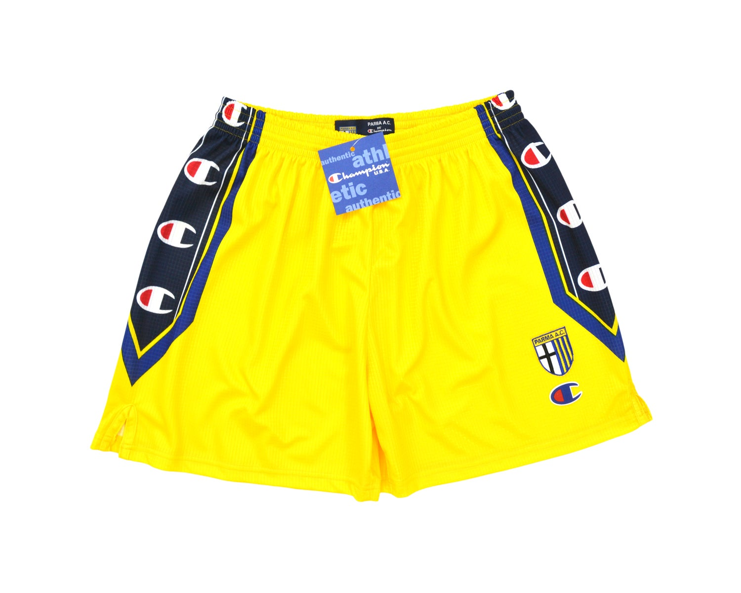 Image of 1999-00 Champion Parma Home Shorts XL