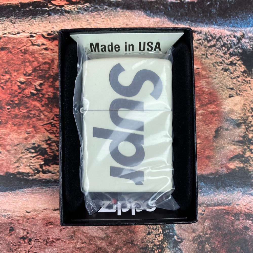 Image of Supreme Glow In The Dark Zippo