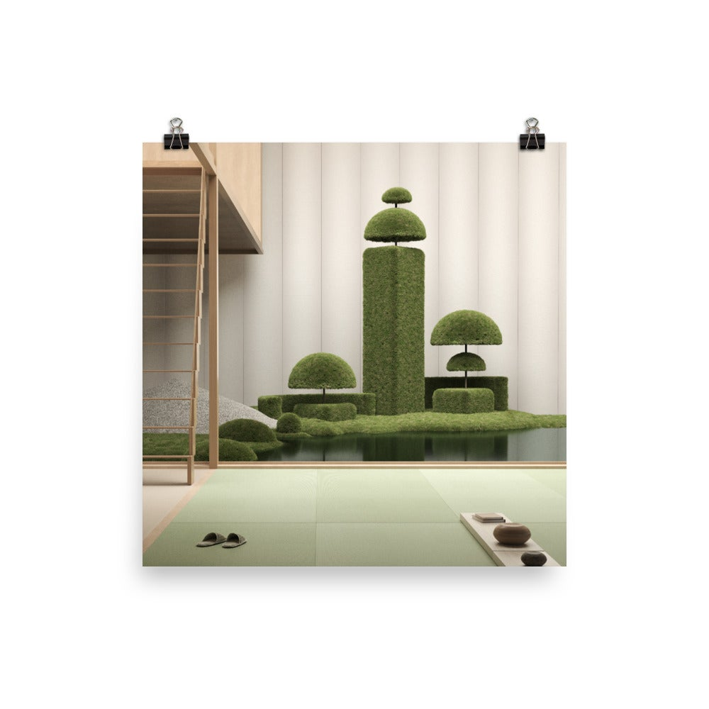 Image of Japanese Garden 06 Photo paper poster