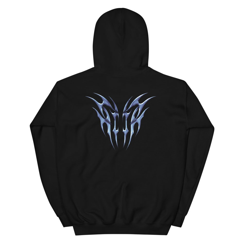 Image of secret souls hoodie logo / tribal