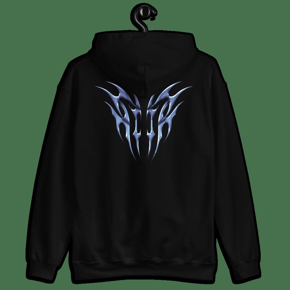 Image of secret souls hoodie logo / tribal