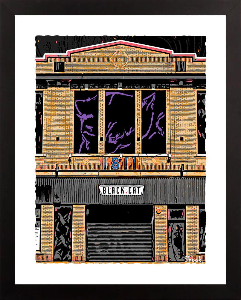 "Image of Black Cat DC Giclée Art Print - 11"" x 14"""