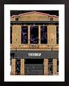 "Black Cat DC Giclée Art Print - 11"" x 14"""