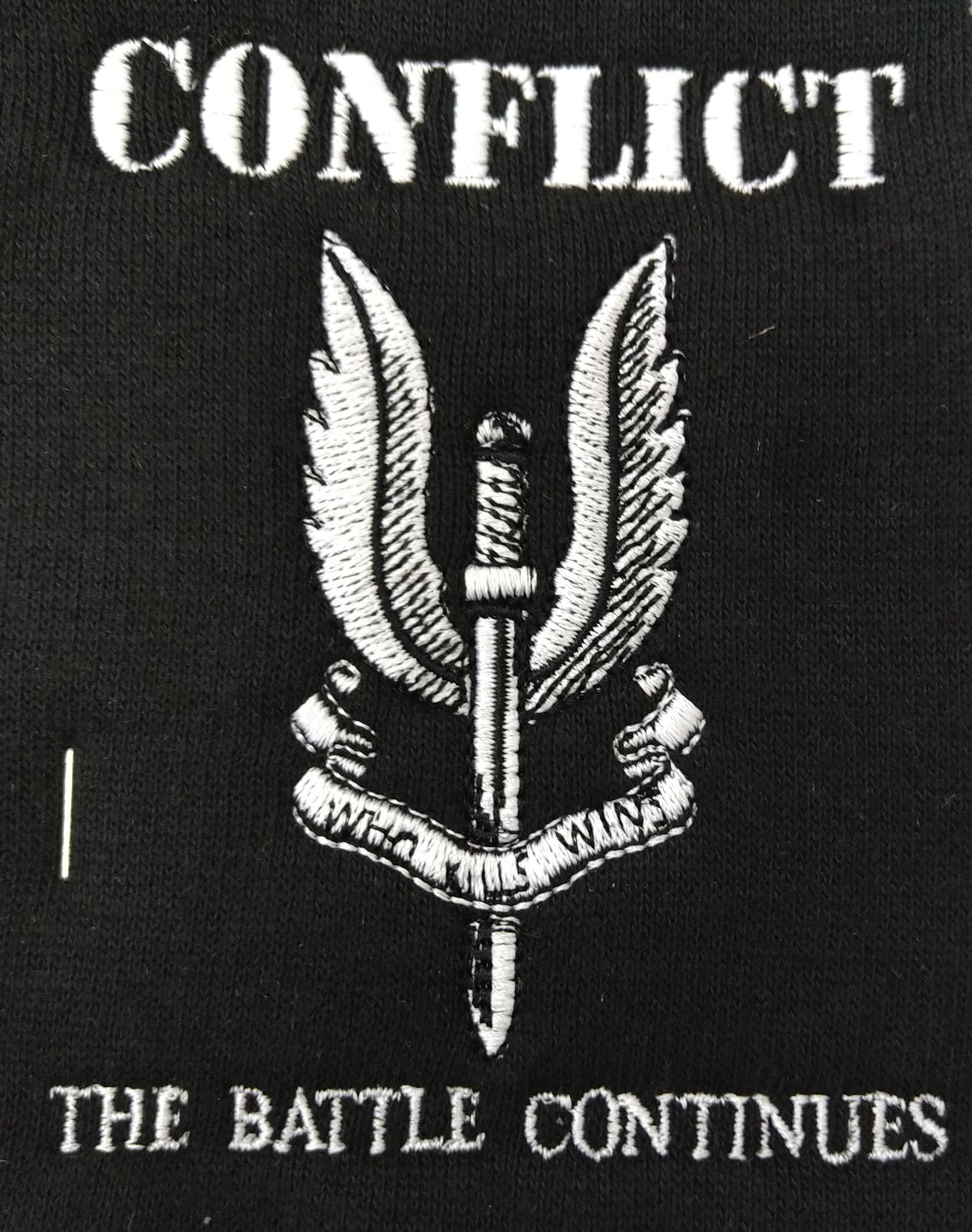 Image of Conflict - The Battle Continues Zip-up Hoodie