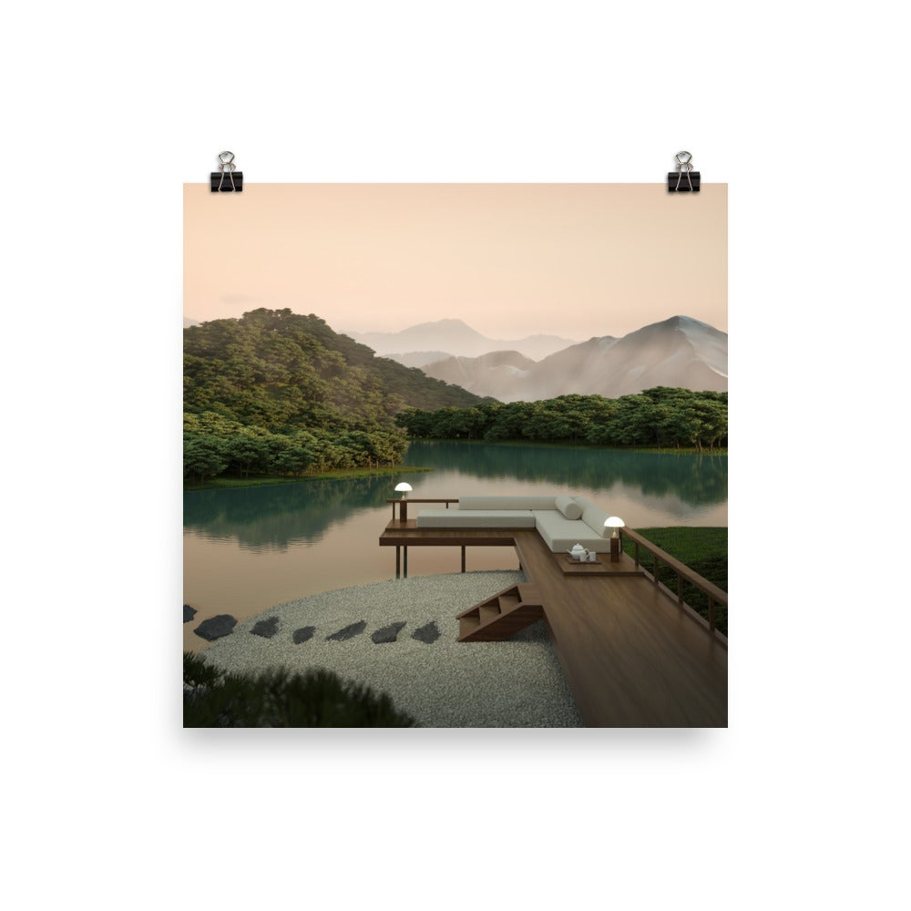 Image of Japanese Garden 07 Photo paper poster