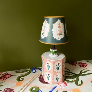 Image of Hollyhock Lampshade