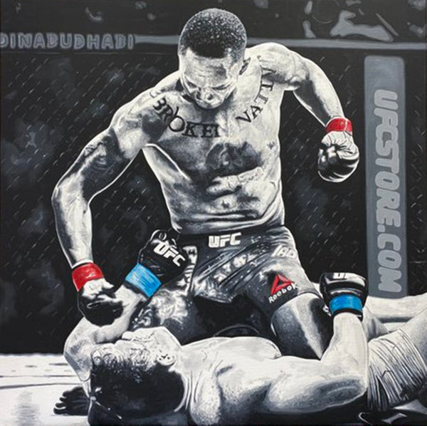 Image of DOMINANCE (2x2ft or 3x3ft canvas print)