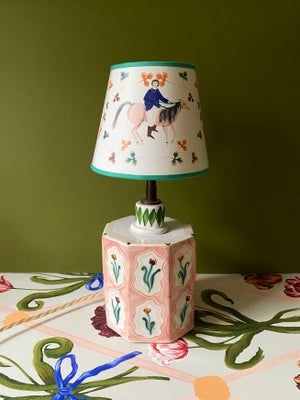 Image of Roaming horses Lampshade