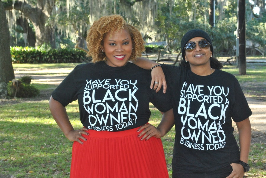 "Image of ""Have You Supported a Black Woman Owned Business Today"" Shirt"