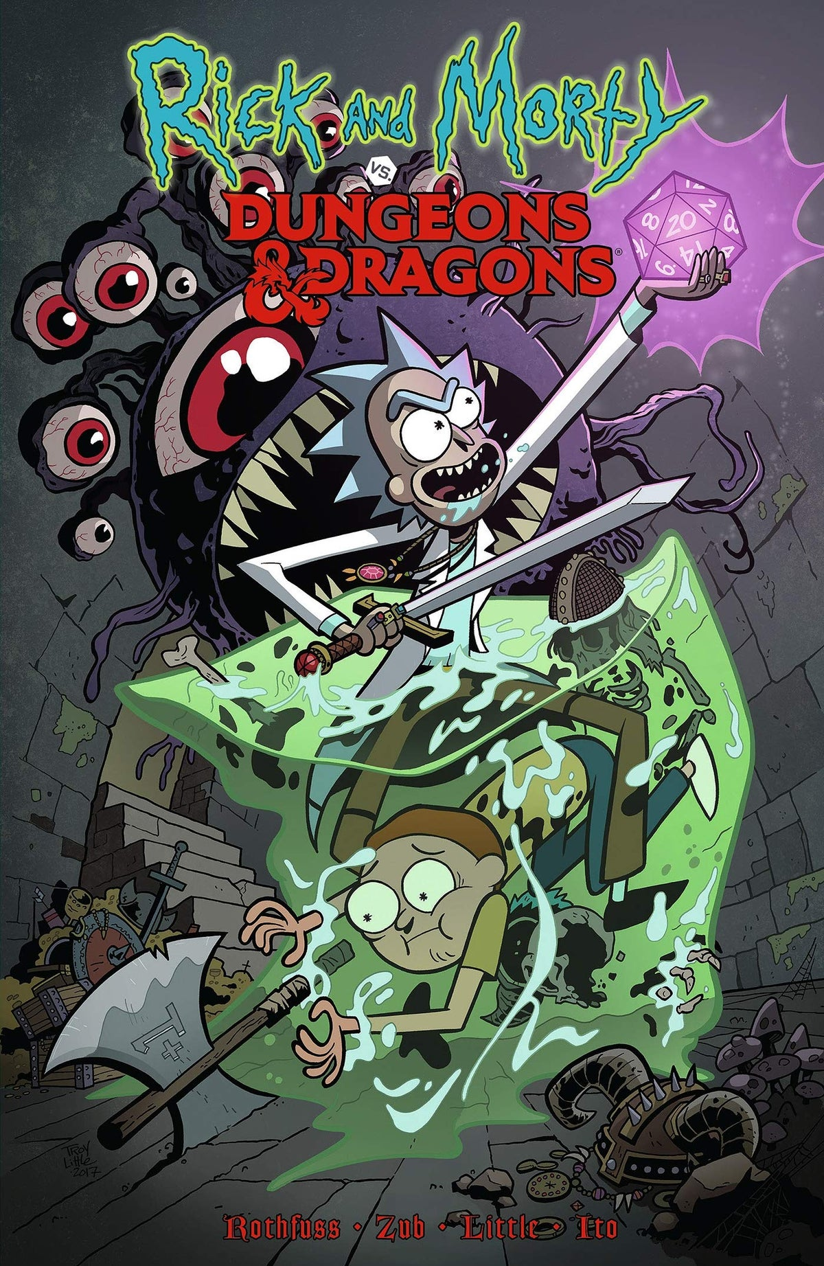 Rick & Morty VS Dungeons & Dragons Vol. 1