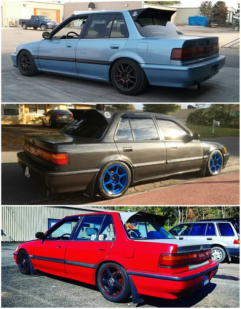 Image of EF Sedan & Hatchback Rear Wing! ***LIMITED RUN***