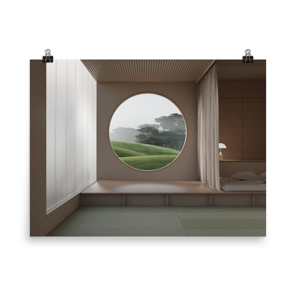 Image of Japanese Garden 04 Photo paper poster