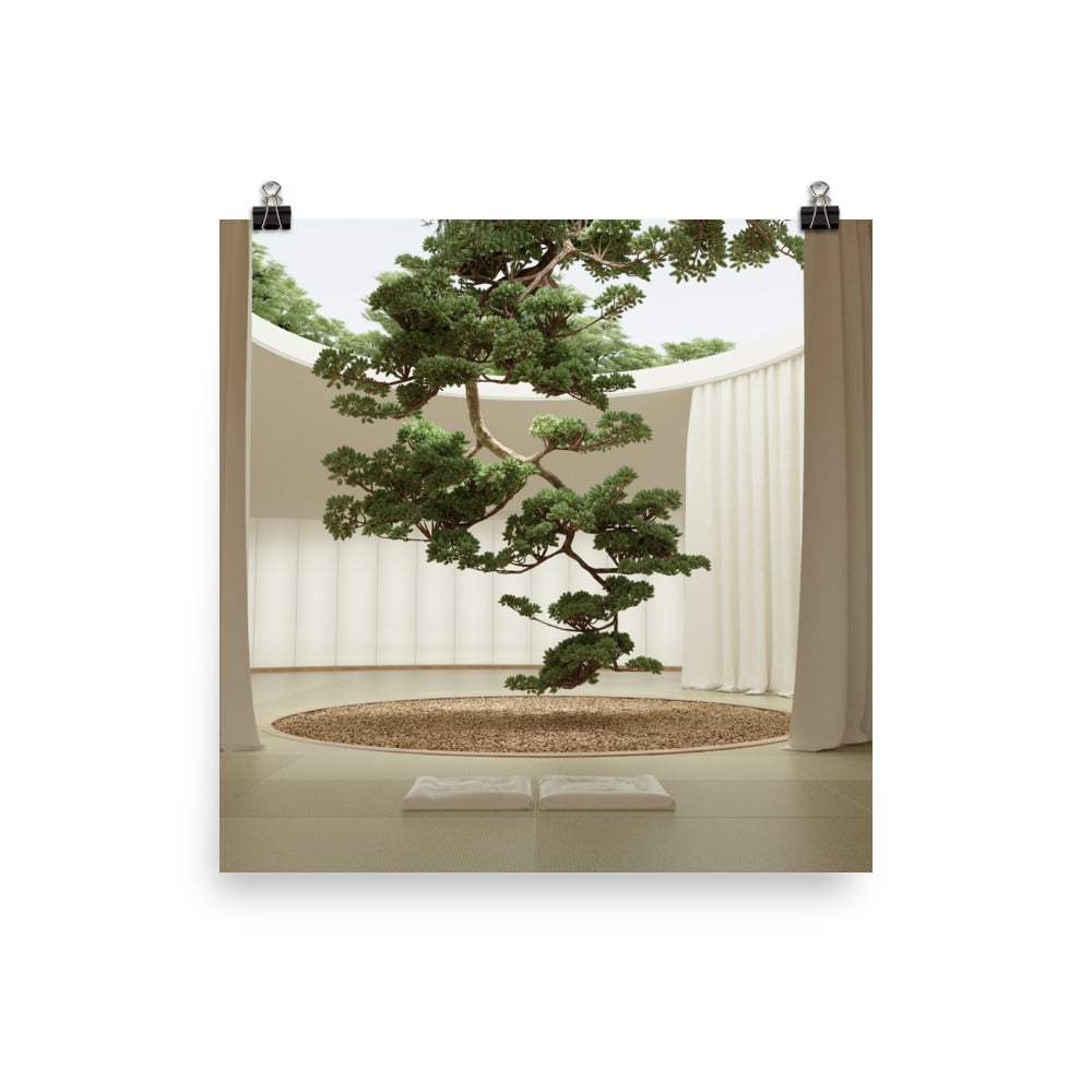 Image of Japanese Garden 03 Photo paper poster
