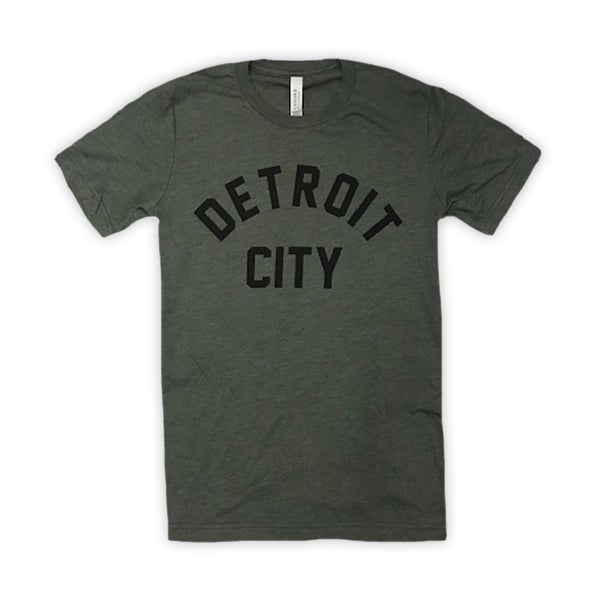 Image of Detroit City Shirt (Military Green)