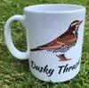 Dusky Thrush Mug