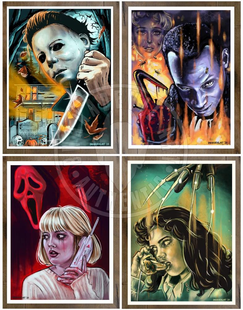 Image of Slasher Art Print Set!