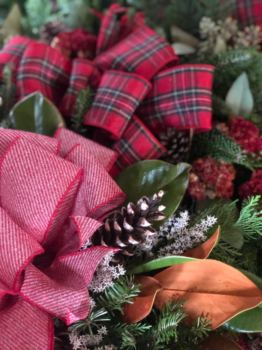 Image of Holiday Wreath TAKE-HOME KIT