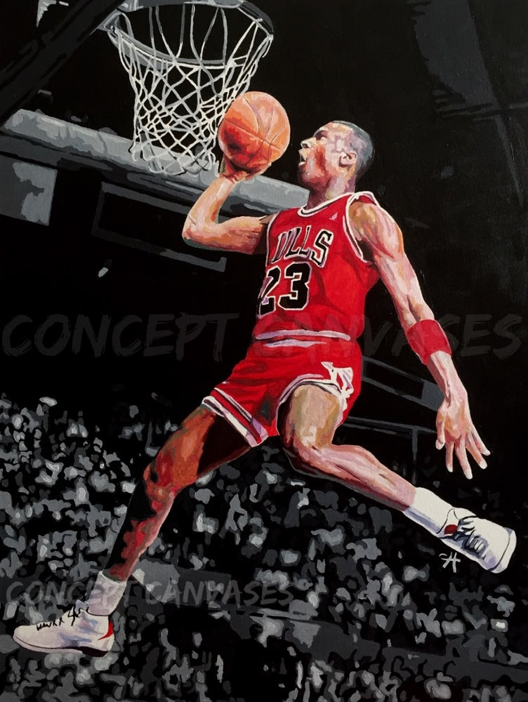 Image of Michael Jordan 'G.O.A.T' Original