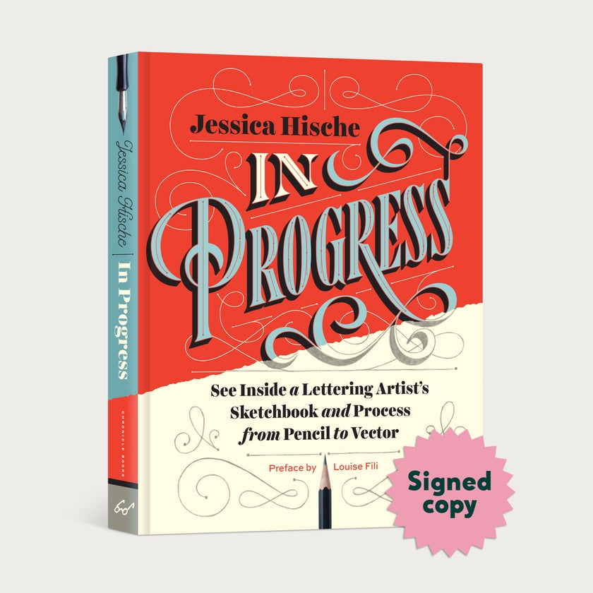 In Progress Signed Book