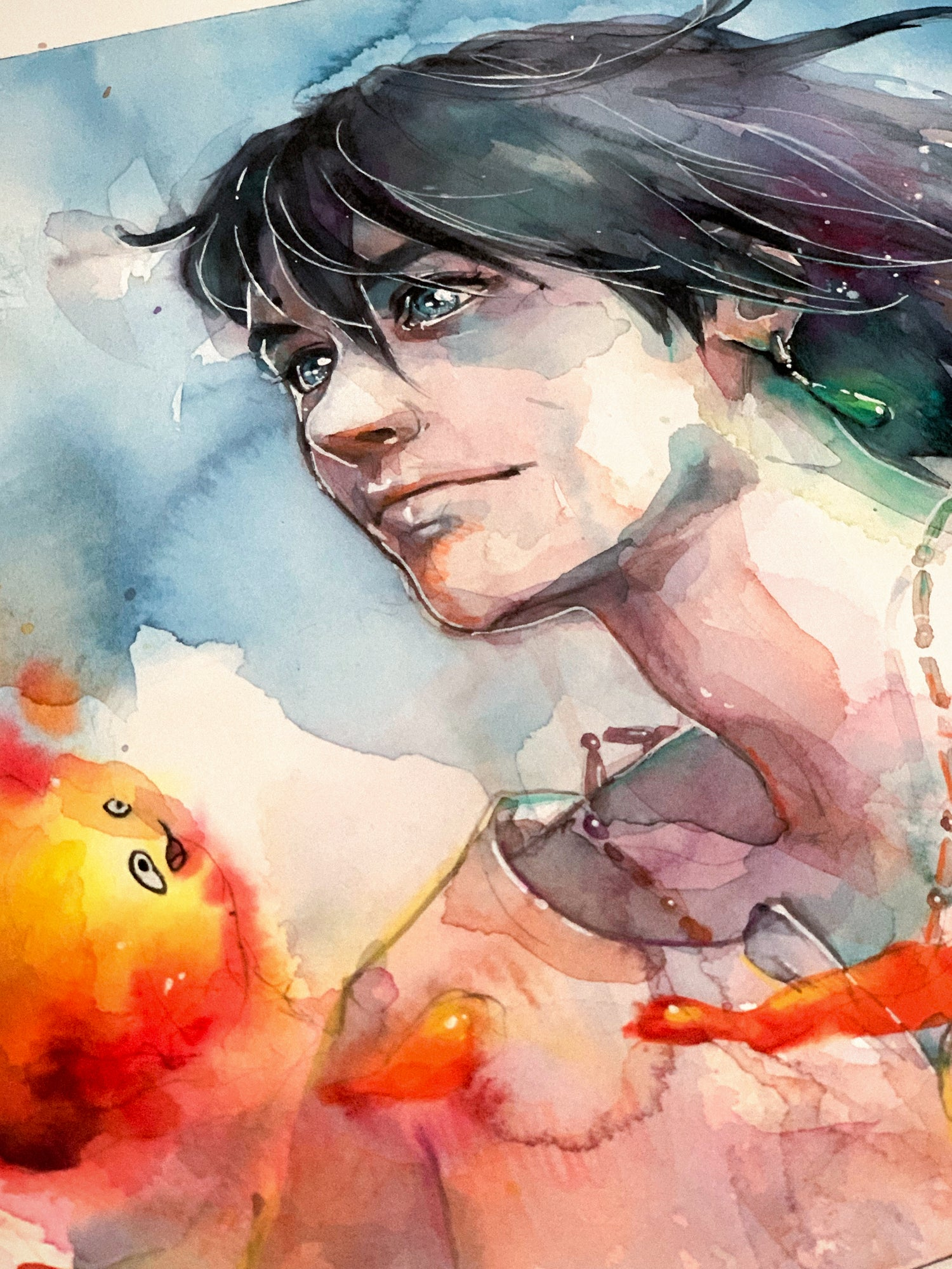 Agnes-Cecile howl and calcifer