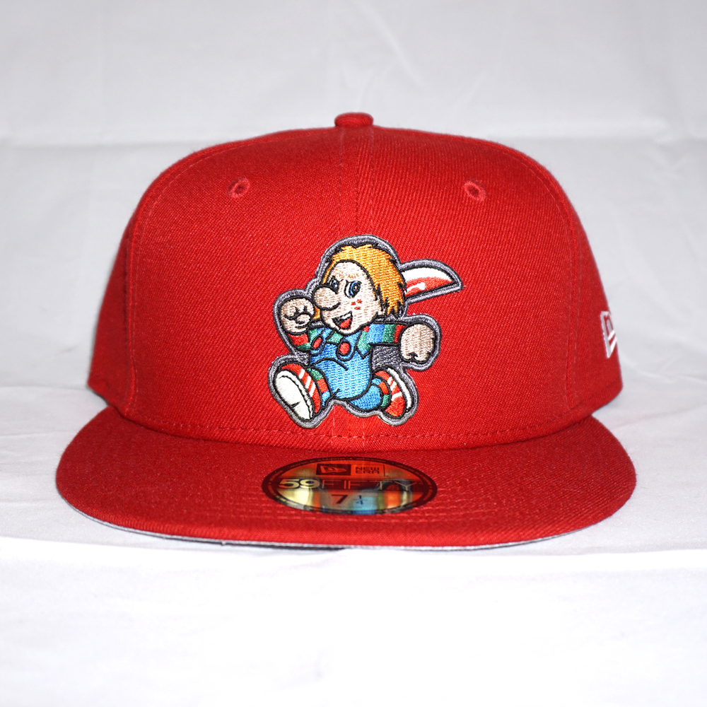 Chucky Custom 59FIFTY Red