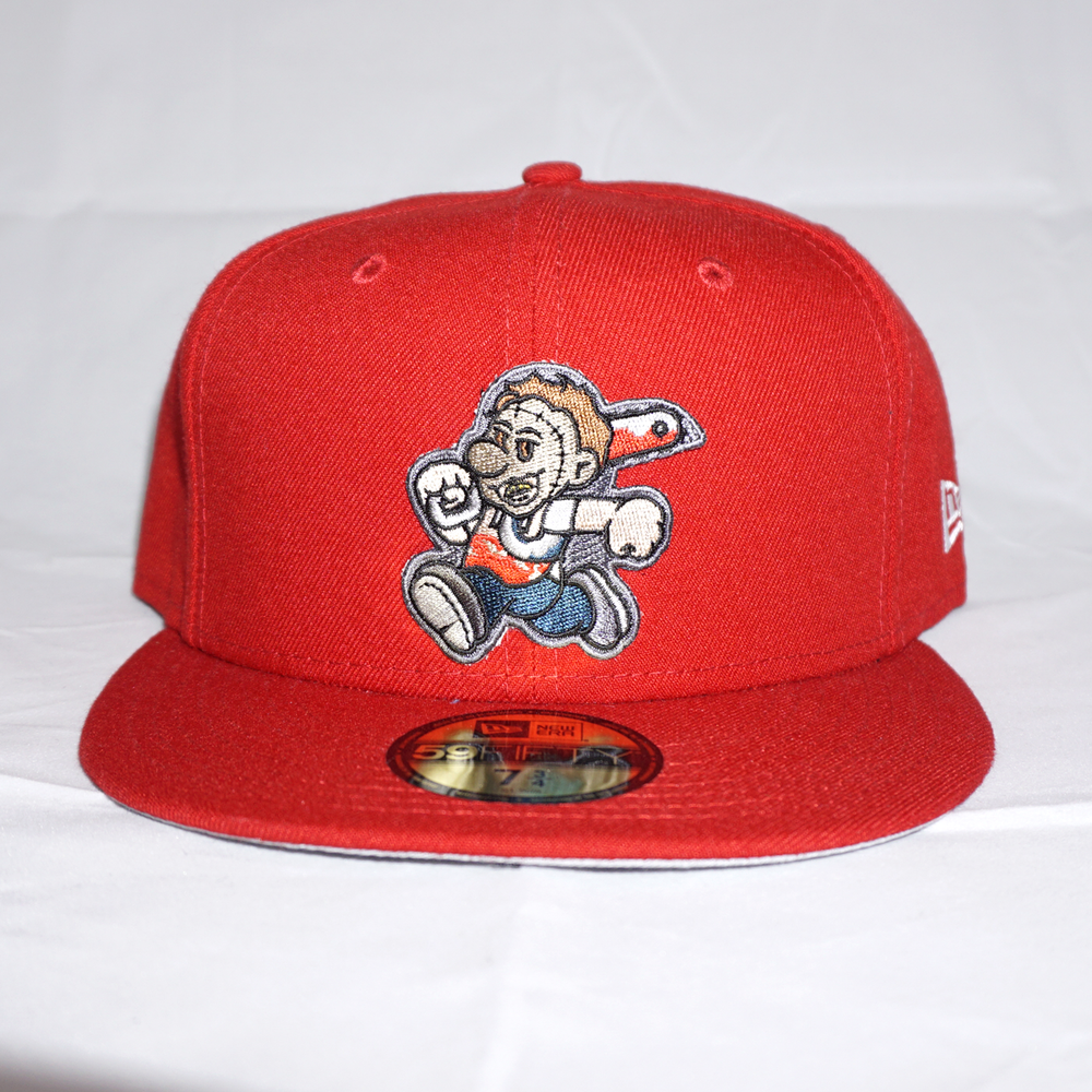 Leatherface Custom 59FIFTY Red
