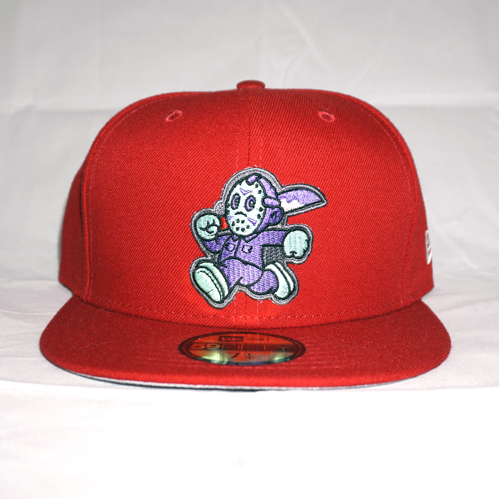 NES Jason Custom 59FIFTY Red
