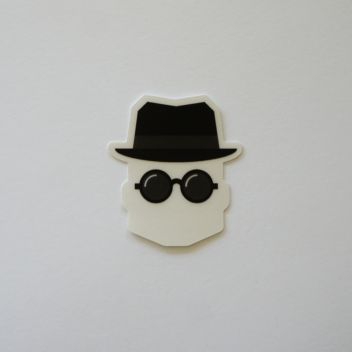 Invisible Man Sticker