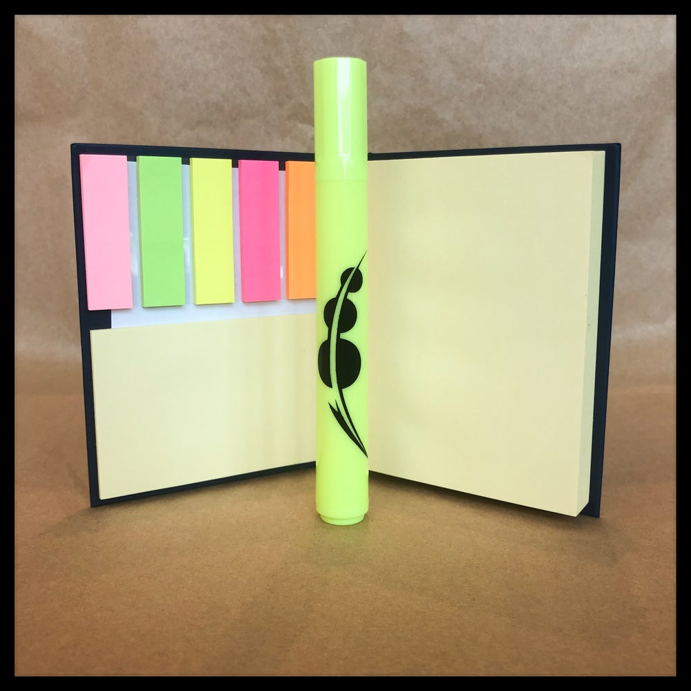 CHOAM Sticky-Note Book + Spacing Guild Highlighter