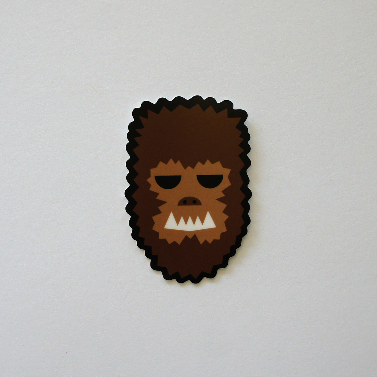 Wolf Man Sticker