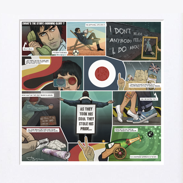 Image of (Whats the Story) Morning Glory? - 25th ANNIVERSARY EDITION - Only 25 available!