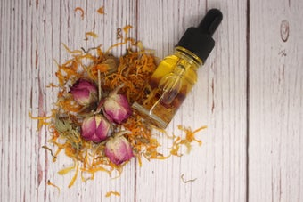 Image of Calendula and Rose Infused Facial Oil