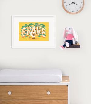 Image of Brave Framed Print