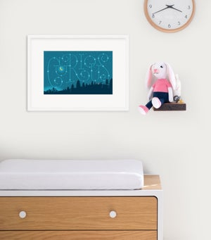 Image of Curious Framed Print