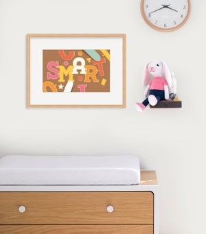 Image of Smart Framed Print