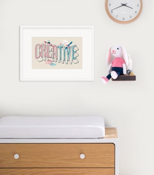 Image of Creative Framed Print