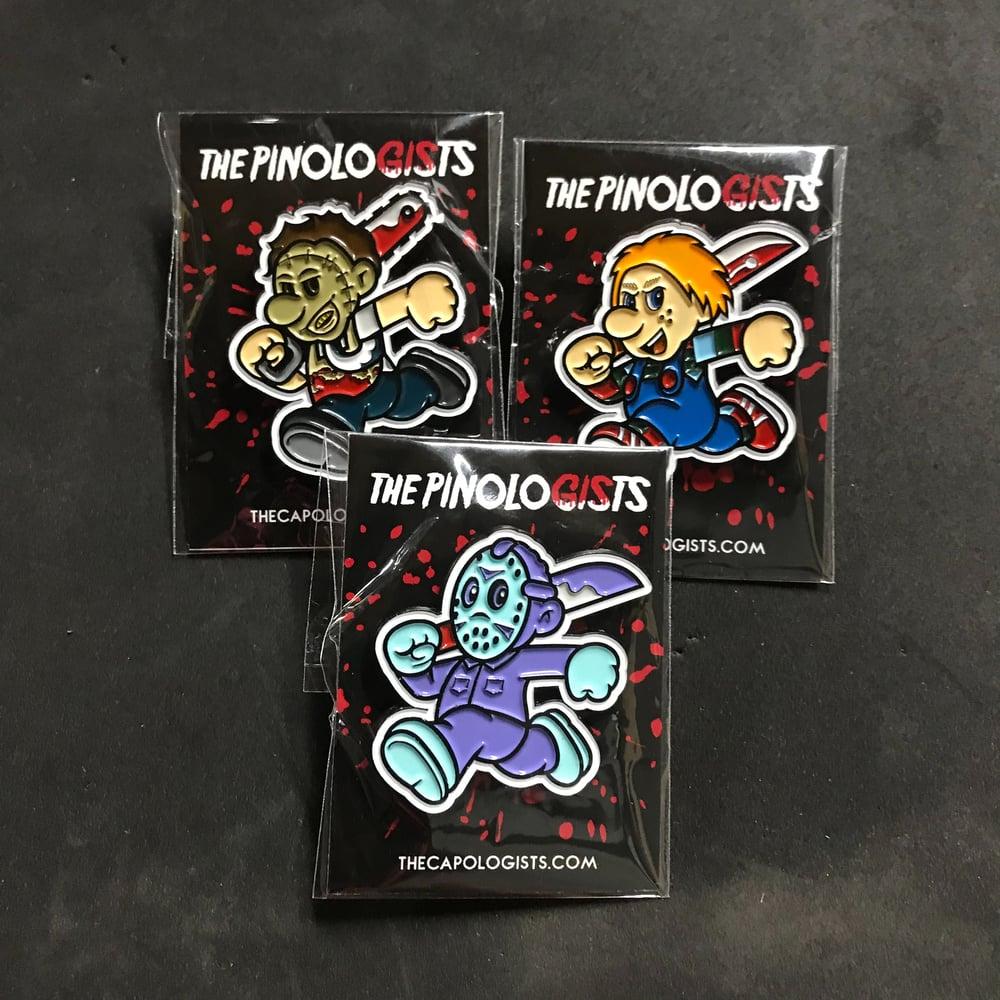 Series 2 Horror Pins