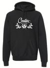 Creston Electric PULLOVER Hooded Sweatshirt, BLACK