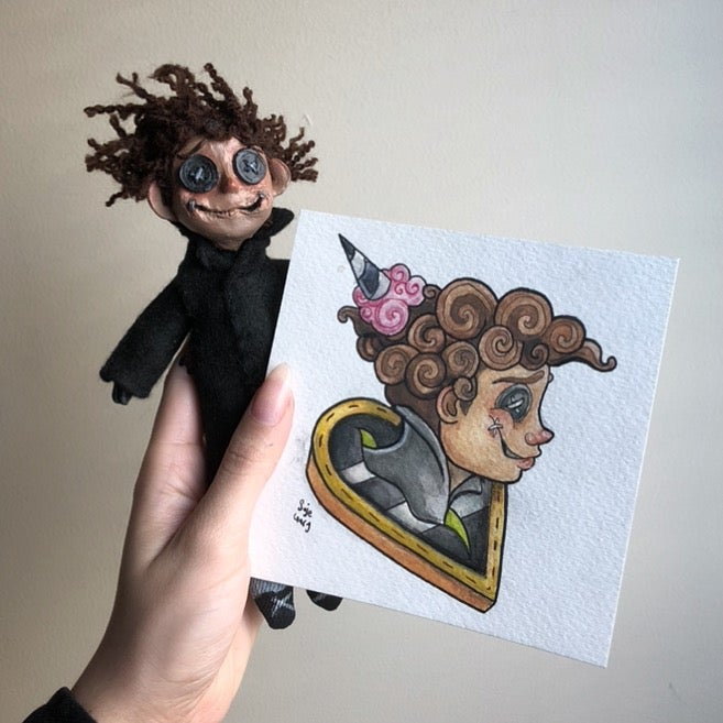 Image of Handmade Other Why were you born doll