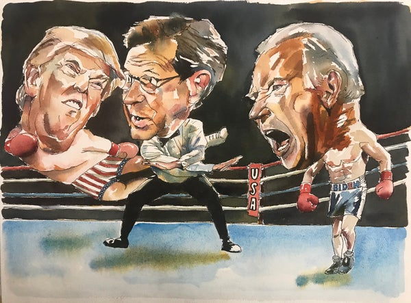 Image of Trump VS Biden Print