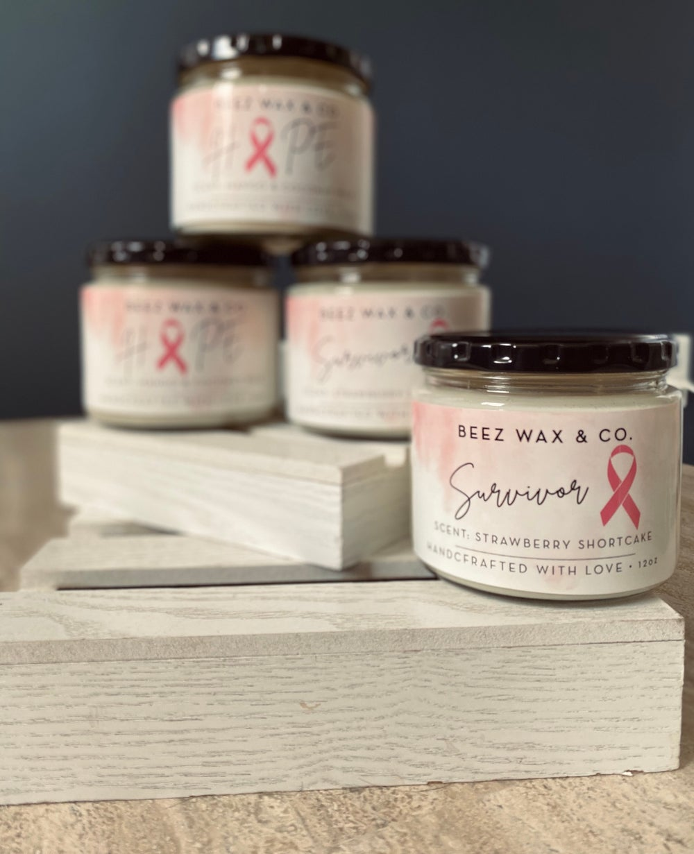 Image of Breast Cancer Awareness Candle