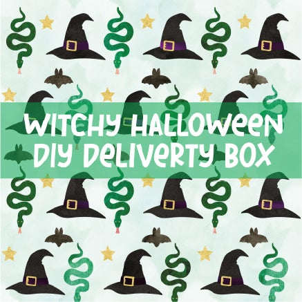 Image of Witches Halloween DIY Box