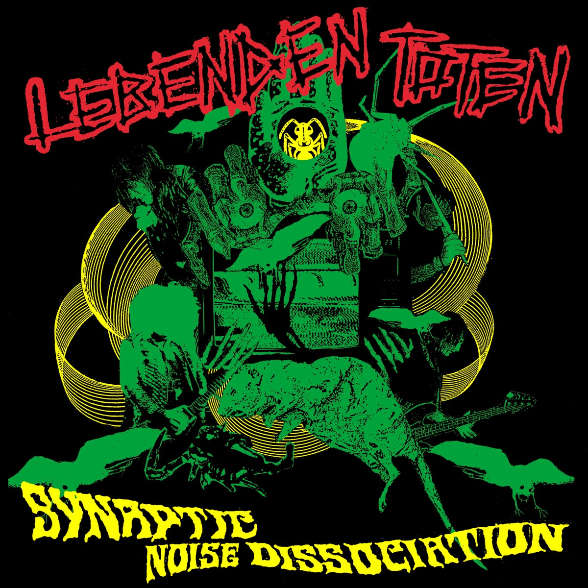 Image of LEBENDEN TOTEN - Synaptic Noise Dissociation LP [Pre-Order. Out on Halloween!]