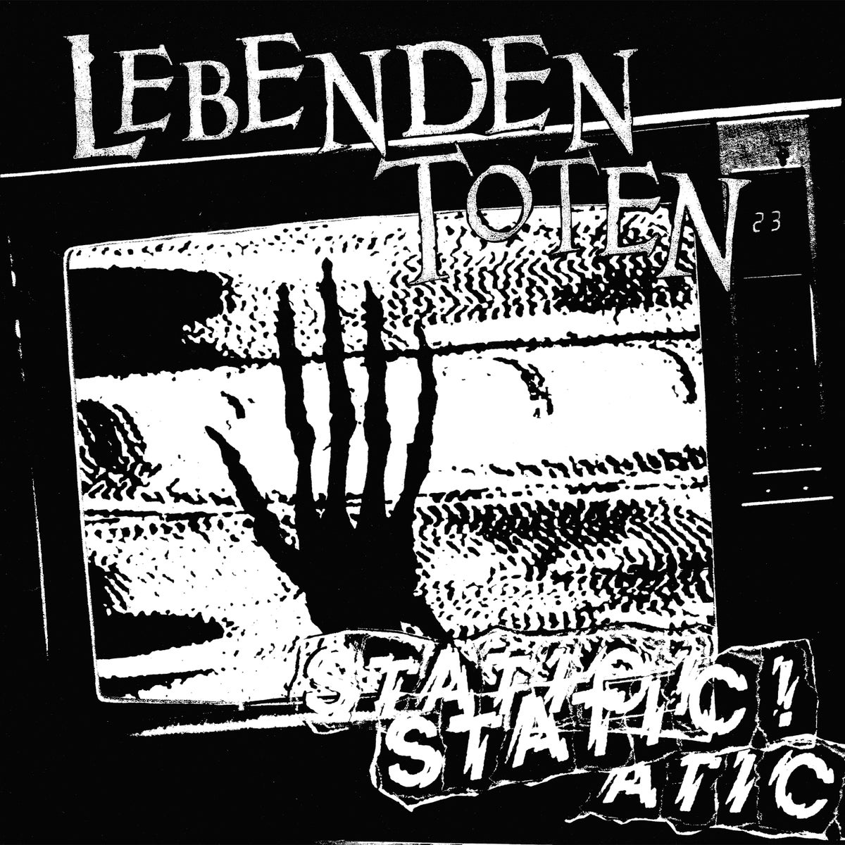 """Image of LEBENDEN TOTEN - Static 12"""" [Pre-Order. Out on Halloween!]"""